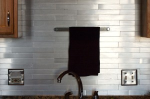 Aluminum Backsplash