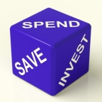 How much to spend, save, and invest
