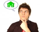 Man considering buying a home
