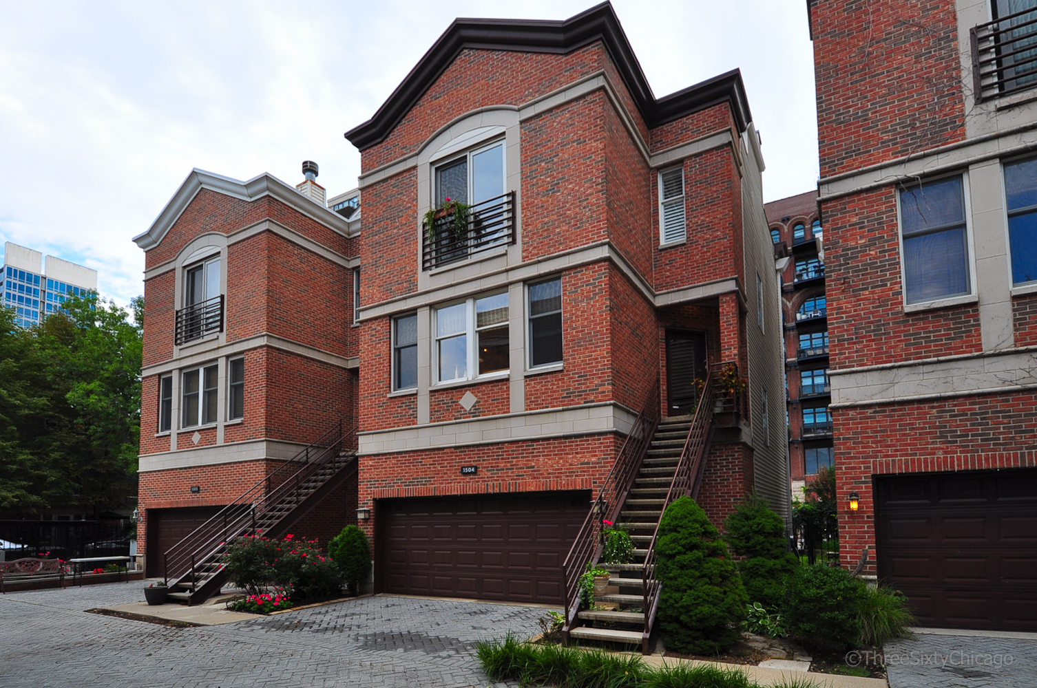 Single Family House For Sale South Loop Chicago 1504 S. State Dearborn Mews
