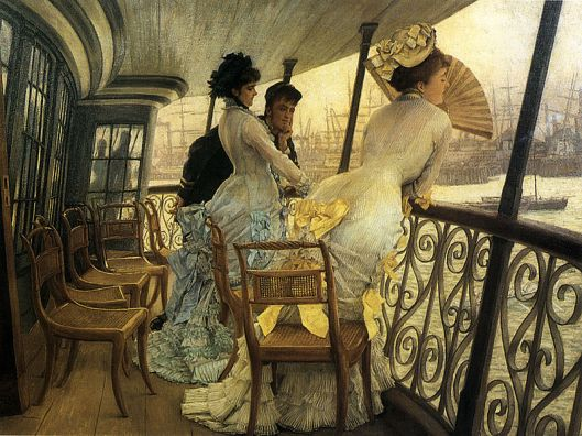 The Gallery of H.M.S. 'Calcutta' (Portsmouth) - Tissot